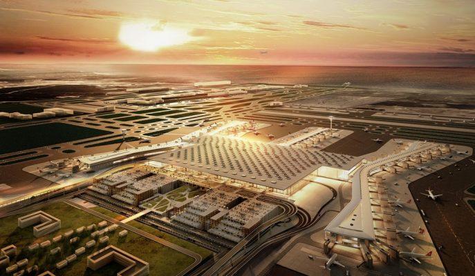 İstanbul Yeni Havalimanı'nın Yapımını Üstlenen İGA'nın Sermayesi 6 Milyar Liranın Üzerine Çıktı