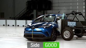 IIHS'nin Kapsamlı 2018 Toyota CH-R Kaza Testi