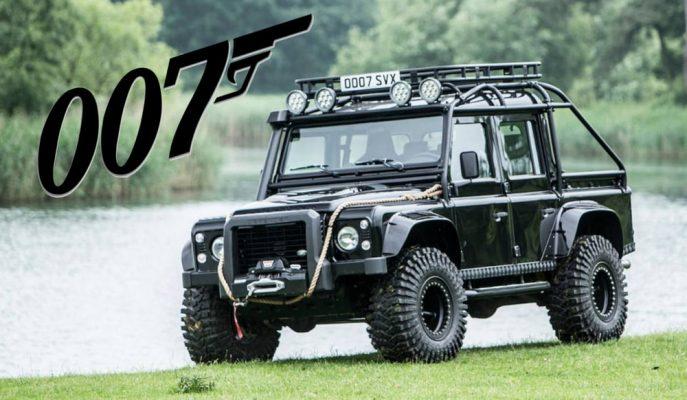 007 James Bond'un Land Rover Defender'ı Yüksek Bir Fiyatla Satışa Çıkıyor!