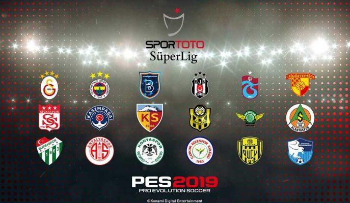 Konami'den Türk Oyunculara Müjde: PES 2019'da Süper Lig Olacak!