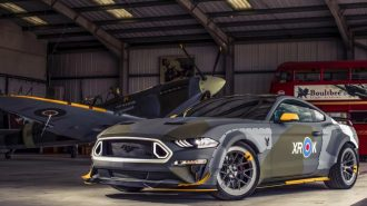 "Korkutucu Görüntüsüyle ""Eagle Squadron Mustang GT"" Goodwood'a İndirildi!"