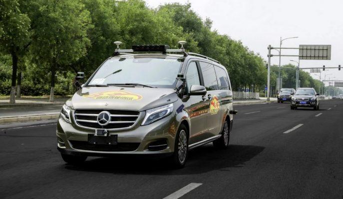 Mercedes ve Waymo Çin'de 4. Seviye Otonomlu V-Class Van Araç Testine Başladı!