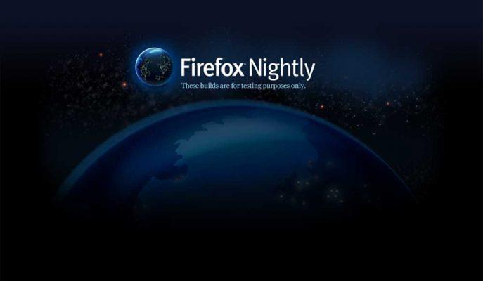 Mozilla İnternet Tarayıcısı Firefox için Gece Modunu Test Ediyor
