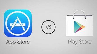 Play Store İndirme Sayısında Apple'ı Geçse de Kazanç Olarak Çok Geride