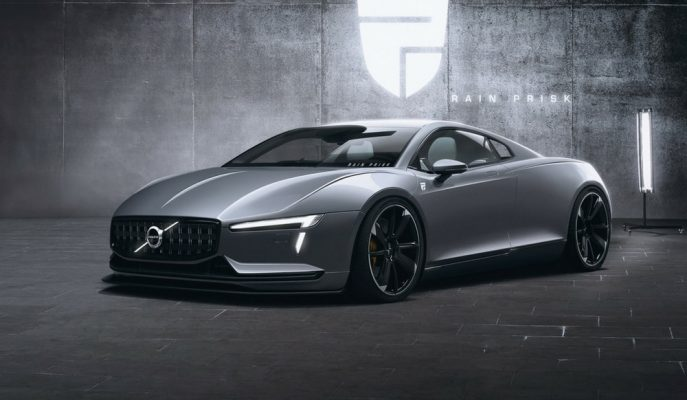 Rain Prisk Volvo Hipercar ve Aston Martin Shooting Brake'yi Dijital Dünyada Düşündü!