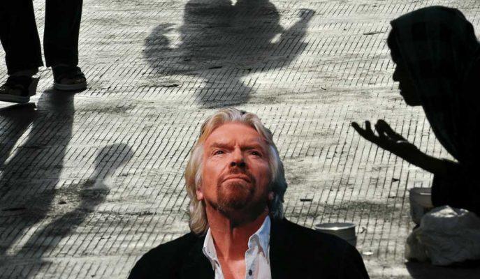 """Richard Branson: """"Gelir Eşitsizliğini Temel Gelir Sistemi Ortadan Kaldırabilir!"""""""