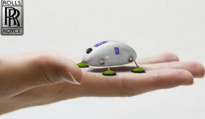 Rolls Royce'un Uçak Motoru Bakımlarını Robot Böcek ve Yılan Sürüsü Yapacak!