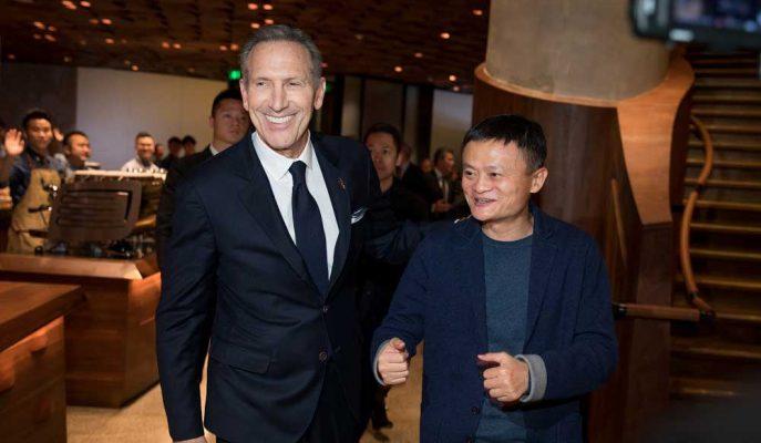 Starbucks Çin'de Online Satışlarını Artırmak için Alibaba'yla Ortaklık Yapıyor!