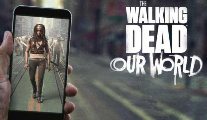 Fenomen Dizi The Walking Dead'in Mobil Oyunu Geliştirildi