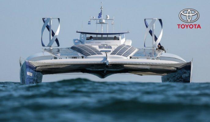 Toyota Dünyanın İlk Hidrojenle Çalışan Gemisini Sulara İndiriyor!