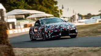 """Toyota Supra'nın Kamuflajı Kalkmasa da """"Motor Sesi Etkileyici"""""""