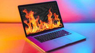 Yeni MacBook Pro Yüksek Performans ile Kullanıldığında Isınma Sorunu Yaşıyor!