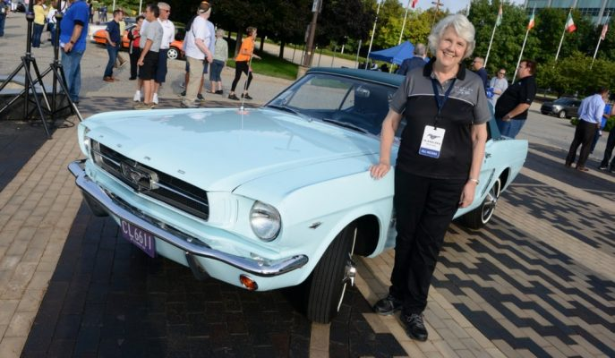 Gördüğünüz 1964 Model Ford Mustang Dünyadaki En Özel Olanı!