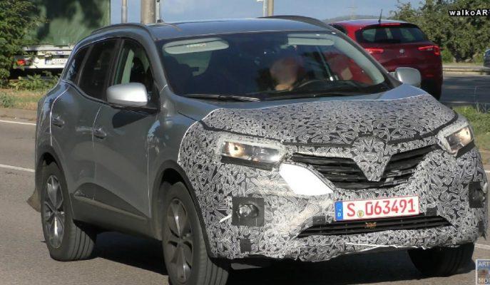 2019 Renault Kadjar Almanya Sokaklarında Test Edilirken Yakalandı!