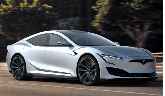 Türk Tasarımcının Dikkat Çeken Yeni 2019 Tesla Model S Yorumu!