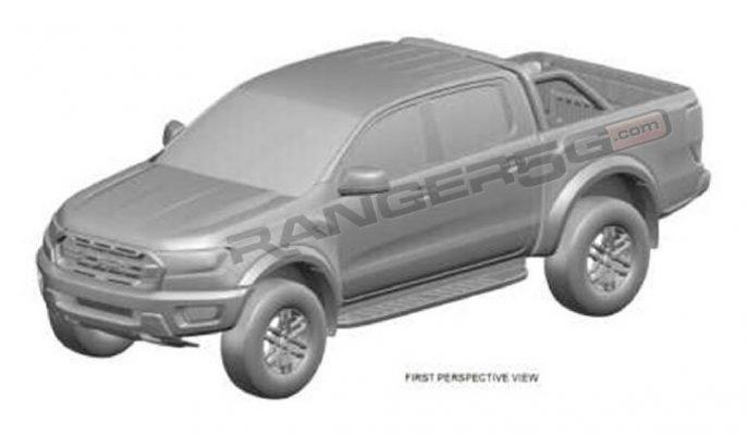 Ford Ranger Raptor'un ABD Pazarına Gidecek Patent Görselleri Yayınlandı!