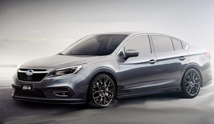 2020 7. Nesil Subaru Legacy'ye Dair İlk Görseller Geldi!