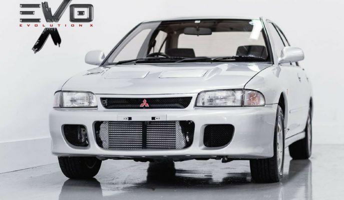 Mitsubishi Lancer EVO'nun Birinci Neslinden Kalan En Kusursuz Örneği Satılıyor!