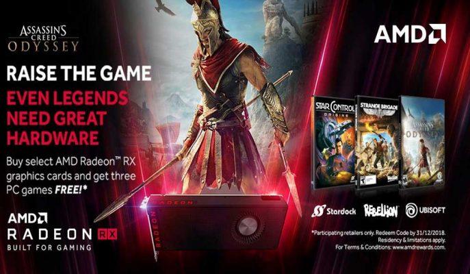 AMD'den Ekran Kartı Alacaklara Hediye Oyun Müjdesi