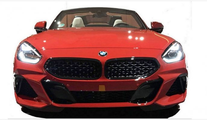 BMW Z4'ün Sızdırılan Resimleri Konseptiyle Aynı Görünüyor!