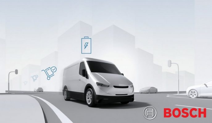 Bosch Gelecek Yıl İlk Elektrikli Ticari Araçlarını Gösterecek!