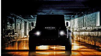 Bowler'ın Sıradaki Yeni Aracı Land Rover Defender V8 Guns!