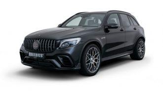 """Mercedes-AMG GLC 63 S'in En Karanlık Tarafını: """"Brabus 600"""""""