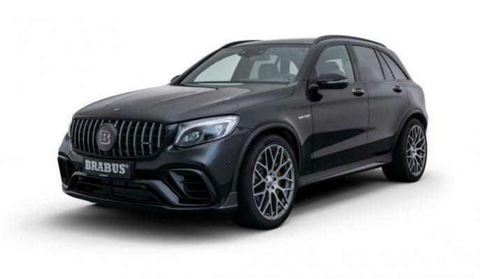 """Mercedes-AMG GLC 63 S'in En Karanlık Tarafı: """"Brabus 600"""""""