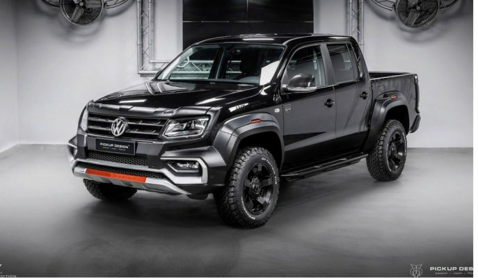 "Carlex'in En Hareketli Pick-up Modifiyesi: ""VW Amarok-Amy 4×4"""