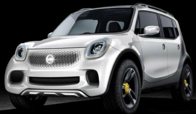 """Daimler – Benz """"Smart SUV"""" için Düğmeye Bastı!"""