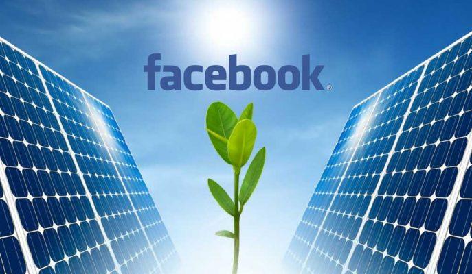 Facebook % 100 Yenilenebilir Enerjiye Geçme Sözü Verdi!