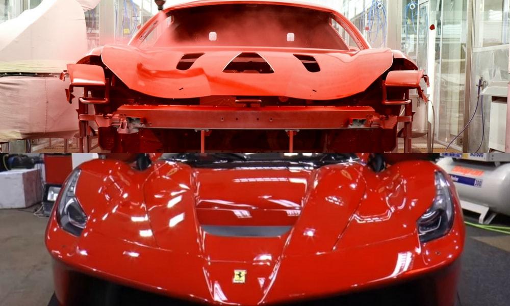 Ferrari Ppg Ile Gelistirdigi Essiz Boya Teknolojisinden Bahsetti