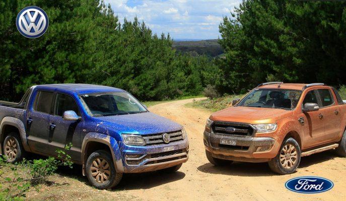 Ford Ranger ve VW Amarok'un Ortak Platformda Üretim Onayı Geldi!