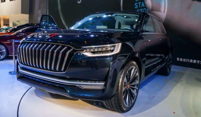 """Çin'den Çıkan En Tarz SUV'la Tanışın: """"Hongqi HS7"""""""