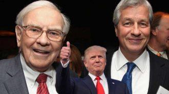 Jamie Dimon ile Warren Buffett'ın 3 Aylık Bilanço Çağrısına Trump'tan Destek!