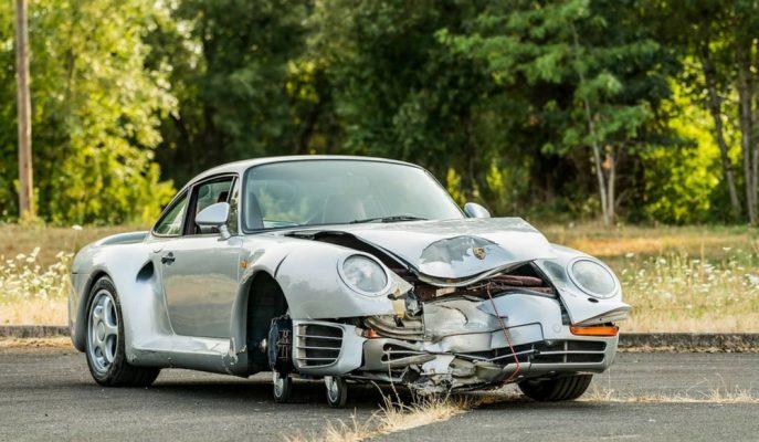 Satılığa Çıkartılan Bir Porsche 959 Kazalı Olmasına Rağmen Çok Pahalı!