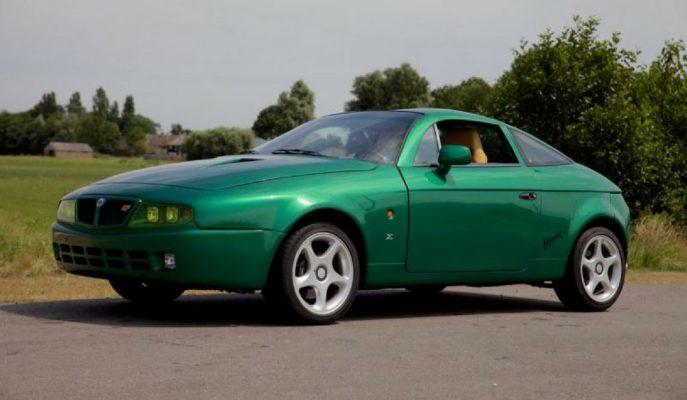 """Sadece 24 Adet Üretilen """"Lancia Hyena Zagato""""lardan Biri Satılıyor ve Fiyatı Çok Konuşulacak!"""