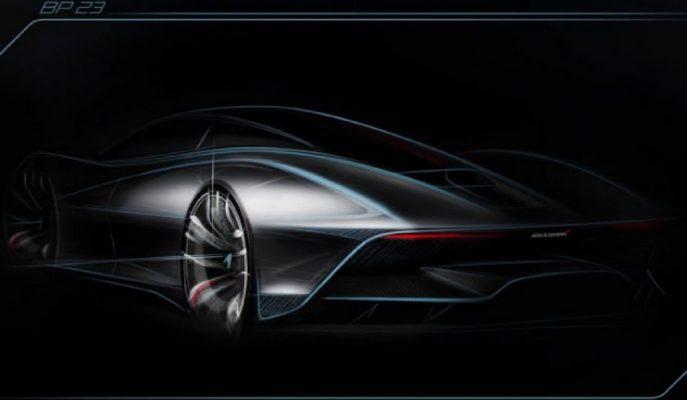 """McLaren'in Gizli Silahı """"Speedtail"""" 1000 Hp'yi Aşacak!"""