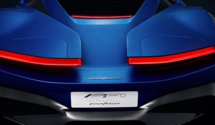 Pininfarina PFO Hipercar Concept'in İlk Görseli Geldi!