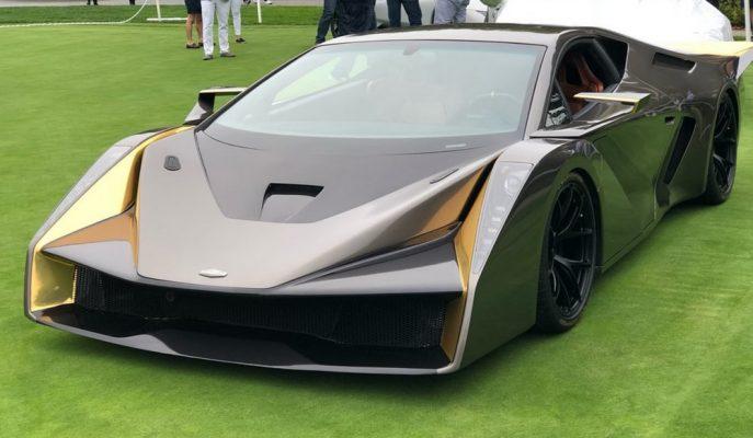 """Mazda Tasarımcısından Gallardo Tabanlı bir Süper Otomobil: """"Salaff C2"""""""