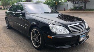 """20 Bin Dolara Alabileceğiniz En Hızlı Lüks Sedan: """"2006 Mercedes S65 AMG"""""""