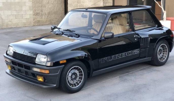 1985 Renault R5 Turbo 2 Evo'lardan Kalan En Temiz Örneği Satılıyor!