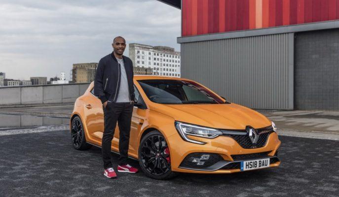 Thierry Henry Yeniden Renault Modelleri için Kamera Karşısında!