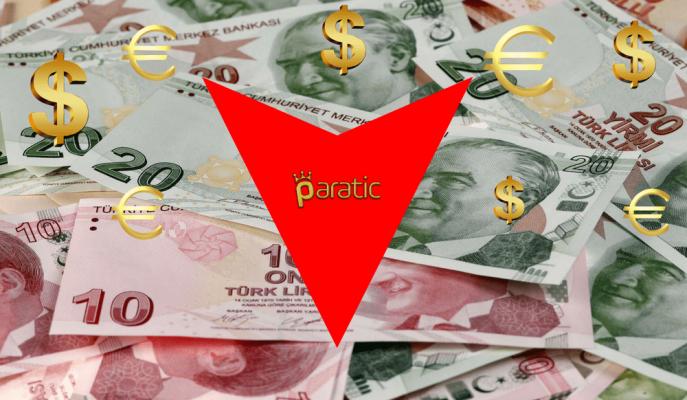 Türk Lirası Dolar ve Euro Karşısında Tarihi Dip Seviyeleri Gördü