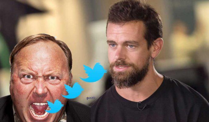 "Twitter CEO'su: ""Alex Jones'u Engellemedik Çünkü…"""