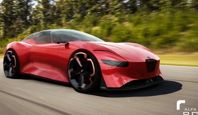 """Ferrari'yi Zorlayacak """"Alfa Romeo 8C""""ye Onay Çıktı!"""