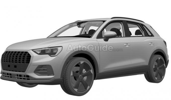 Audi Yeni Q3'ten Sonra Şimdi de RS Q3'ün Tasarım Patentini Aldı!