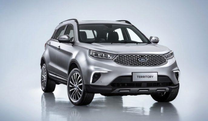 "Ford – Jiangling İşbirliğinden Doğan SUV ""Territory 4×4"""