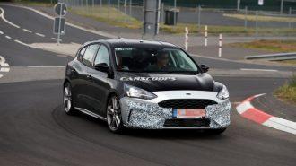 Ford, Focus ST Üzerindeki Kamuflajı Azalttı!