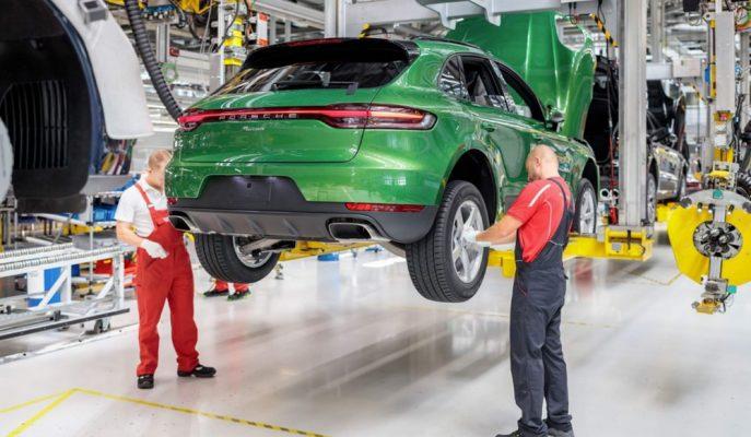 Porsche Yeni Macan'ı Işık Hızında Üretime Aldı!